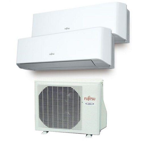 Instaclima Aire Acondicionado Fujitsu 2x1 con externa AOY50Ui-MI2 2