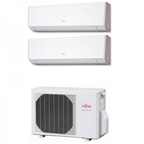 Instaclima Aire Acondicionado Fujitsu 2x1 con externa AOY50Ui-MI2+ ASY 25 MI-LM+ASY 25 MI-LM