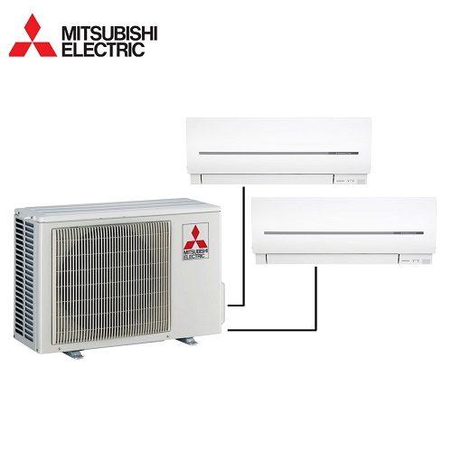 Instaclima Aire acondicionado 2x1 Mitsubishi MXZ-2D53VA+MSZ-SF25-25 2