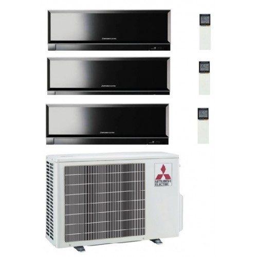 Instaclima Aire acondicionado 3x1 Mitsubishi Electric MXZ-3D54VA y tres splits MSZ-SF, de 15,20 y 35 2