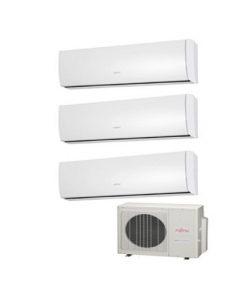 Instaclima Aire acondicionado Fujitsu 3x1 AOY50UI-MI3 + 3 ASY20MI-LU