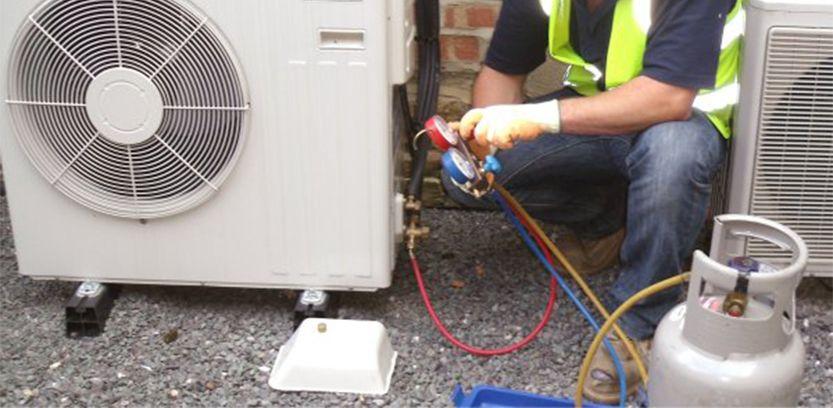 gas refrigerante de aire acondicionado