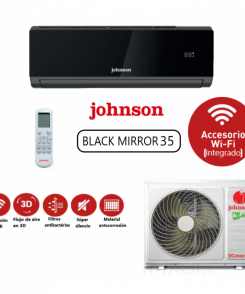 Aire Acondicionado Johnson Black Mirror JN 35
