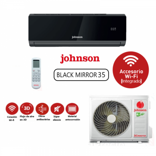 Aire Acondicionado Johnson Black Mirror JN 35