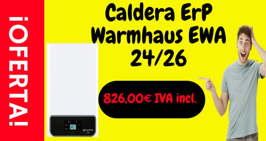 Caldera ErP Warmhaus en oferta