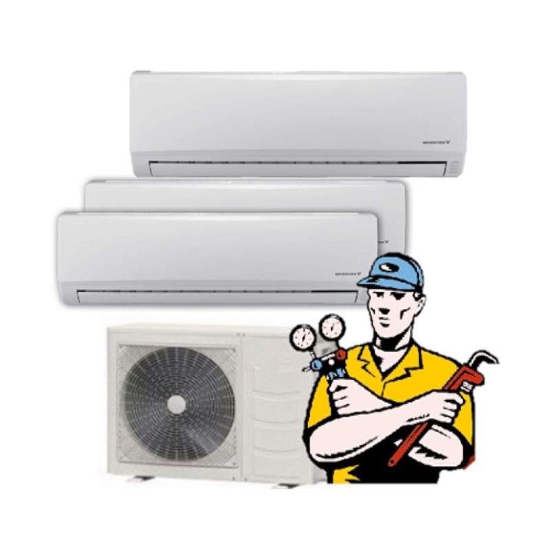 aire acondicionado multisplit barato